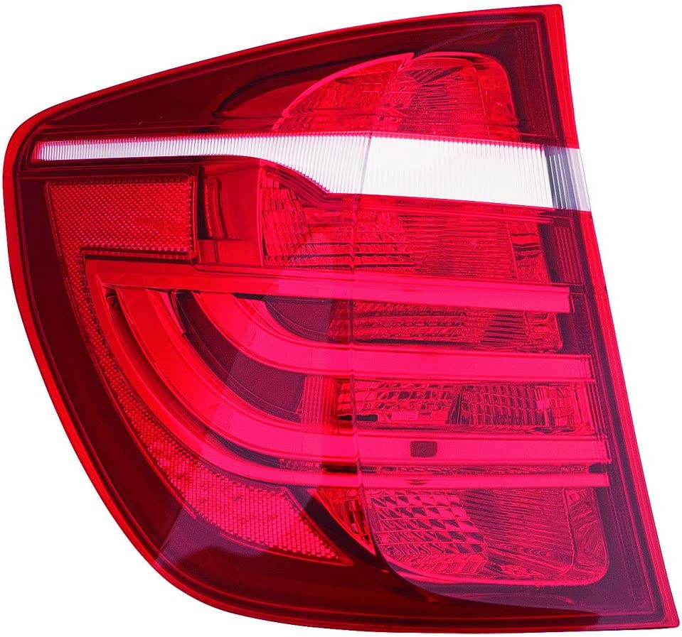 63147217315 Rear w//o Molding Package BM1184104 For BMW X3 Reflector 2011 12 13 14 15 16 2017 Driver Side