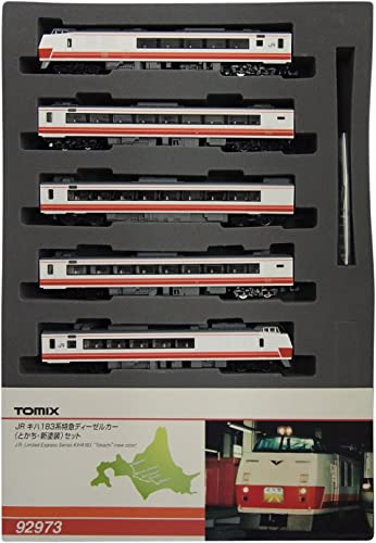100% autentico Limited edition] JR series kiha183 limited express diesel car (with (with (with new Color) (4-car set) (model train (japan import)  Felices compras