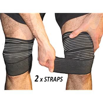Amazon Com Elastic Knee Compression Bandage Wraps Support For