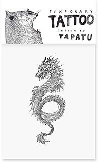 Tattoo mit Drache - Temporäre Tattoos - Aufkleber Blätter