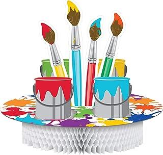 Creative Converting 317728 Art Party Centerpiece, 11.75