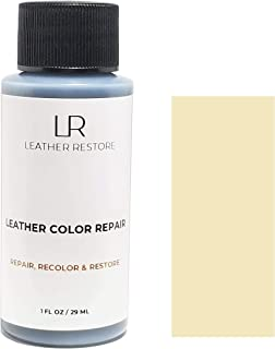Leather Restore Leather Color Repair, Beige 1 OZ - Repair, Recolor and Restore Couch, Furniture, Auto Interior, Car Seats, Vinyl and Shoes