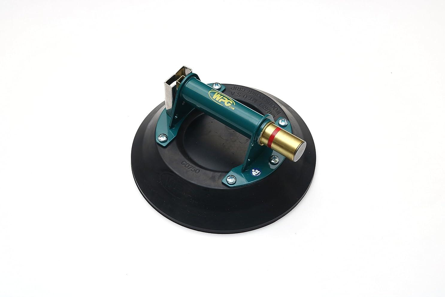 感情回答涙が出る(パワーグリップ)Powr-Grip 曲げガラス対応 ガラス吸盤 10インチ 最大荷重316kg バキュームリフター