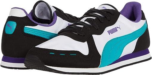 Puma White/Puma Black/Viridian Green/Prism Violet