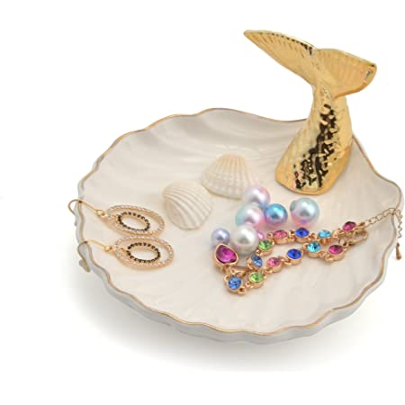 Ocean Sea Trinket Dish Mermaid Tail Ring Dish