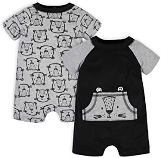 Baby Boys' 2-Pack Rompers