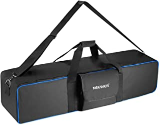 Neewer Large Photo Studio Lighting Equipment Carrying Bag 41.3x9.84x9.84inches with Shoulder Strap and Handle for Light St...