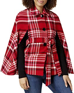 Plaid Cape Jacket