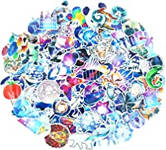 140 Pcs Stickers Pack Variety - Nebula & Animals Style Vinyl Decals DIY - for Laptop Skateboard Car Luggage Motorcycle Bicycle Graffiti Computer Keyboard
