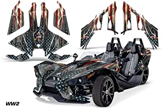 AMR Racing Graphics Polaris Slingshot SL 2015-2016 Vinyl Wrap Full Kit - WW2