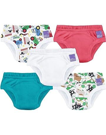Morbuy Coton Couche-Culotte Anti-Fuite Potty Pantalon de Formation Imperm/éables pour Gar/çon et Fille 3 pi/èces Culotte dapprentissage Lavables B/éb/é 70CM//10KG,Dinosaure