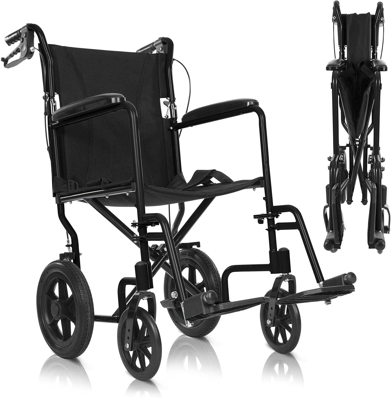 Vive Mobility Folding Transport Wheelchair
