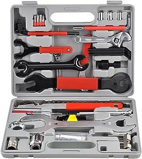 LARS360 44 piezas. Reparación de bicicletas Set Tool Case Bike Herramienta Tool Set Herramienta multifuncional