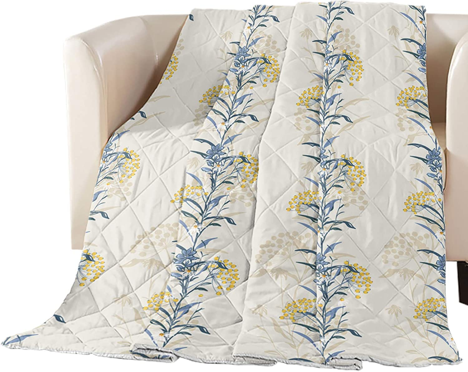 Arts Print Full Size Quilt Ranking Max 84% OFF TOP5 Lightweight Bedspread All Throw Soft