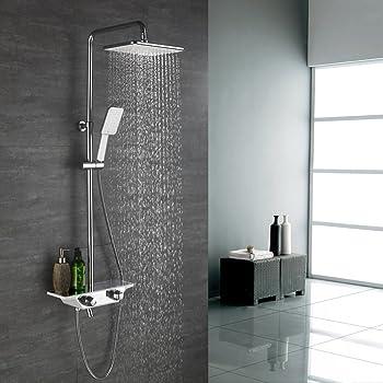 Homelody 38ºC Termostático Columna de ducha Conjunto de Ducha con ...
