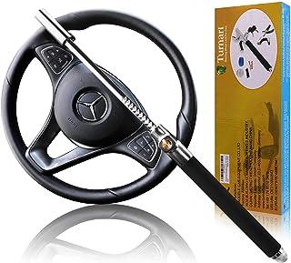 Steering Wheel Lock Double Hook Extendable Car Van Steel Security Anti Theft UK