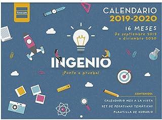 comprar comparacion Calendario de pared 16 meses 2019-2020 español Ingenio Finocam