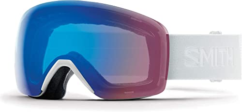 SMITH Skyline Masque de Ski Mixte Adulte, blanc Vapor