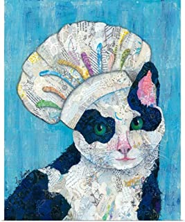 GREATBIGCANVAS Poster Print Chef Cat by Lisa Morales 19