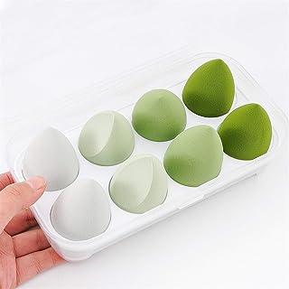 YSJJUSZ Jajko do makijażu 1/4/8 szt. nowy zestaw piękności jajek tykwa kropla wody puff makijaż jajko poduszka kosmetyki g...