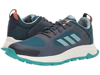 adidas Running Response Trail X Wide (Trace Blue/Ash Grey/Tech Mineral) Women