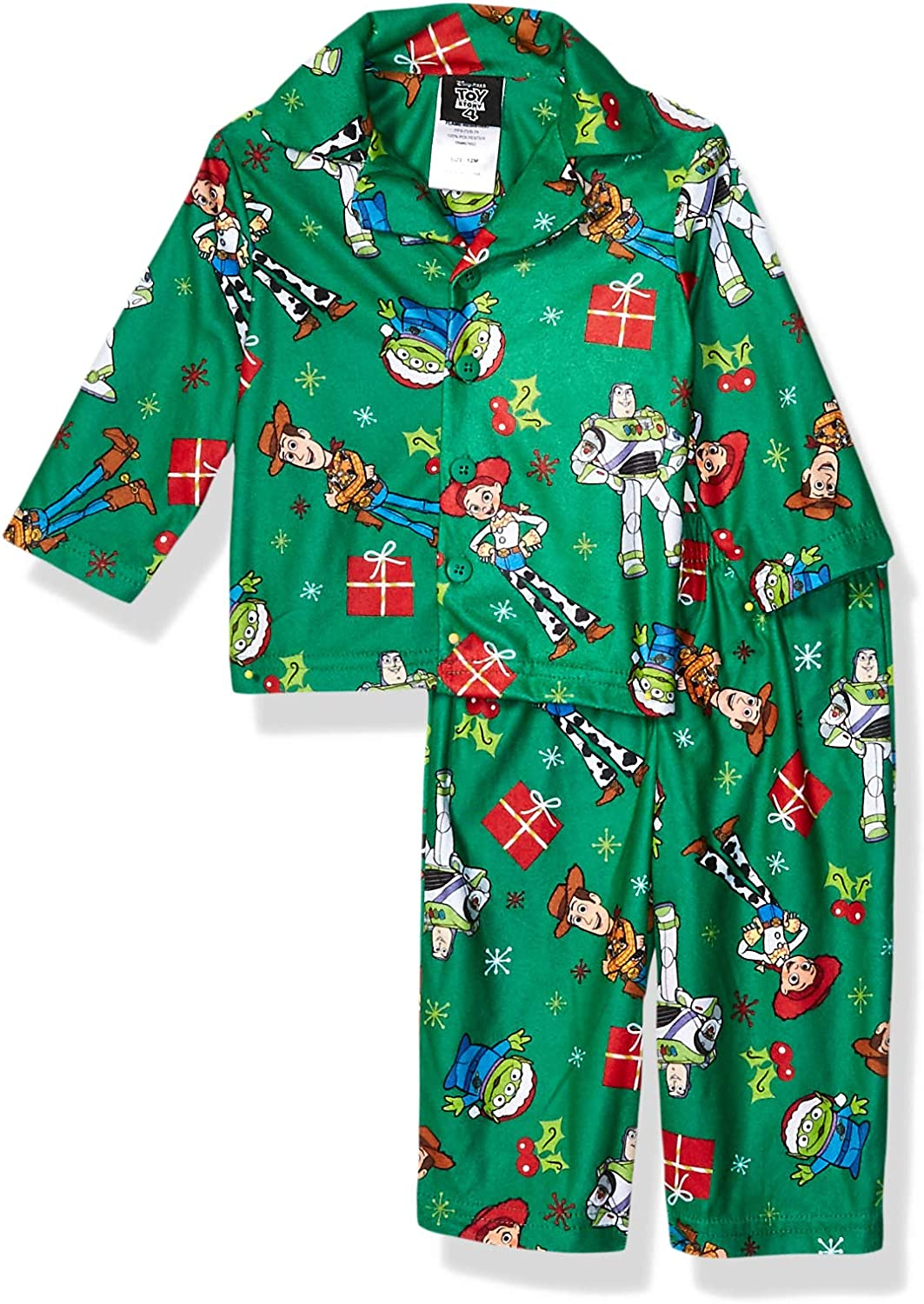 Toy Story Baby Girls Holiday Family Sleepwear Collection