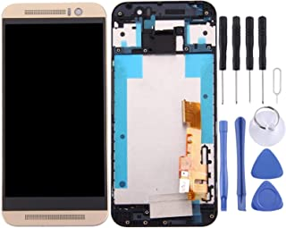 LCD Display Replacement Parts LCD Screen and Digitizer Full Assembly with Frame Compatible for HTC One M9 Mobile Phone Rep...