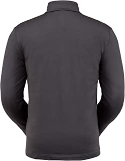 Spyder Men's Prospect Zip T-Neck – Quarter-Zip Pullover Long Sleeve Active Shirt