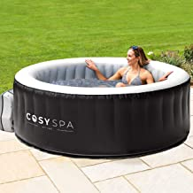 COSYSPA Inflatable Hot Tub – Luxury Outdoor Bubble Spa   2-6 Person Capacity – Quick Heating (Hot Tub Only - 4 Person)