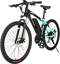 ANCHEER 2019 New 350W Electric Mountain Bike 27.5'' Electric Bicycle, Newest 20MPH Ebike with Removable 36V 10.4Ah Lithium-Ion Battery, Professional 24 Speed Gears