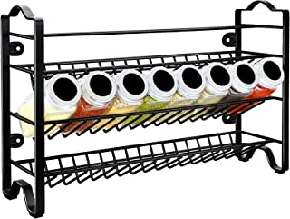 GoMaihe rangement epices autonome à 3 niveaux, etagere a epices en acier inoxydable, range epices cuisine, porte epices po...