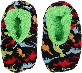 Dino-Mite Boys Slippers | Dinosaur Kids House Slipper