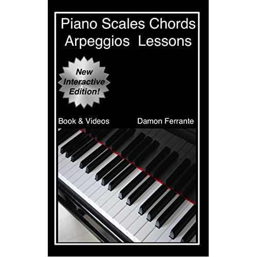 Piano Scales, Chords & Arpeggios Lessons with Elements of