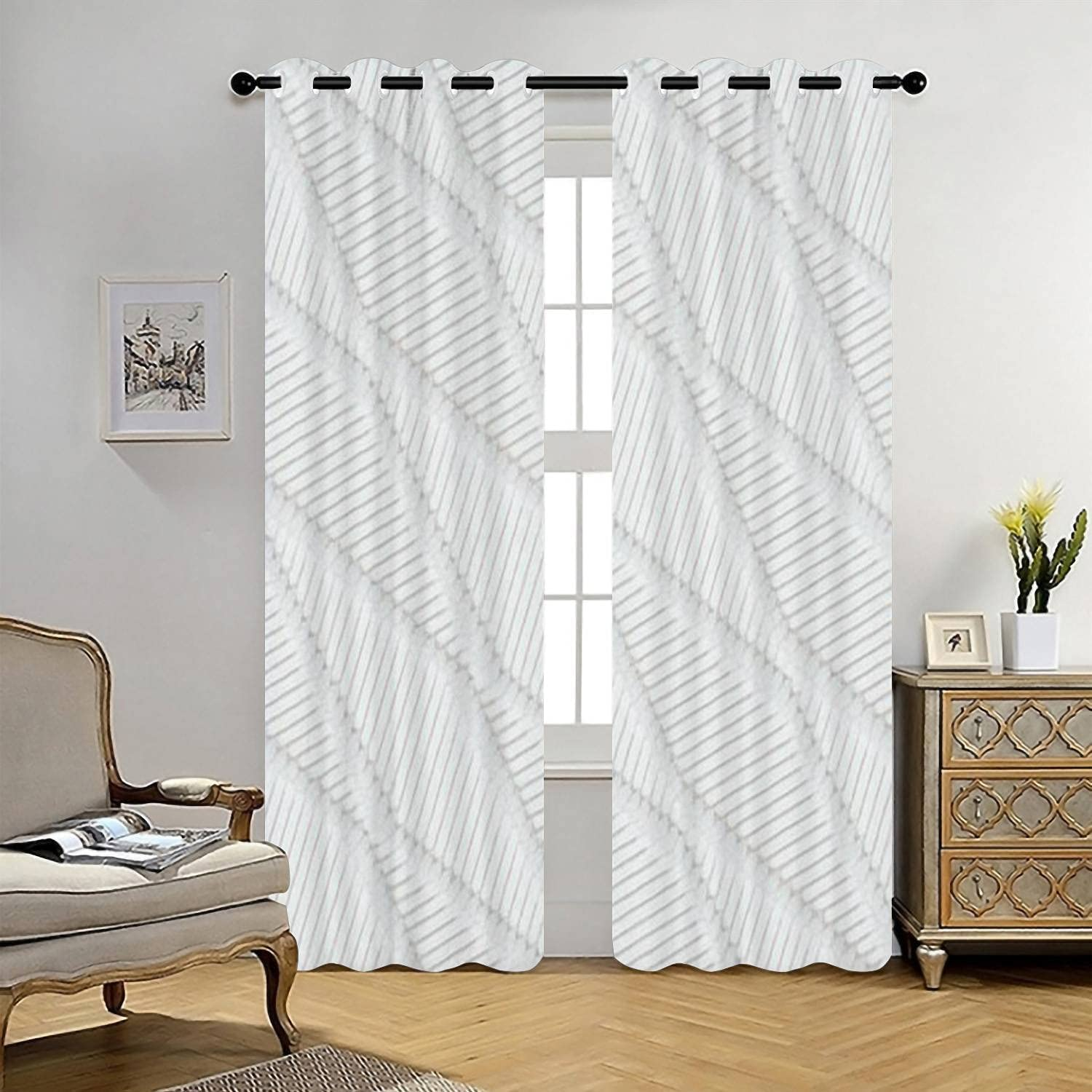 Blackout Nashville-Davidson Mall Curtains Seamless Tech Insulated Thermal Manufacturer regenerated product Lined Pattern