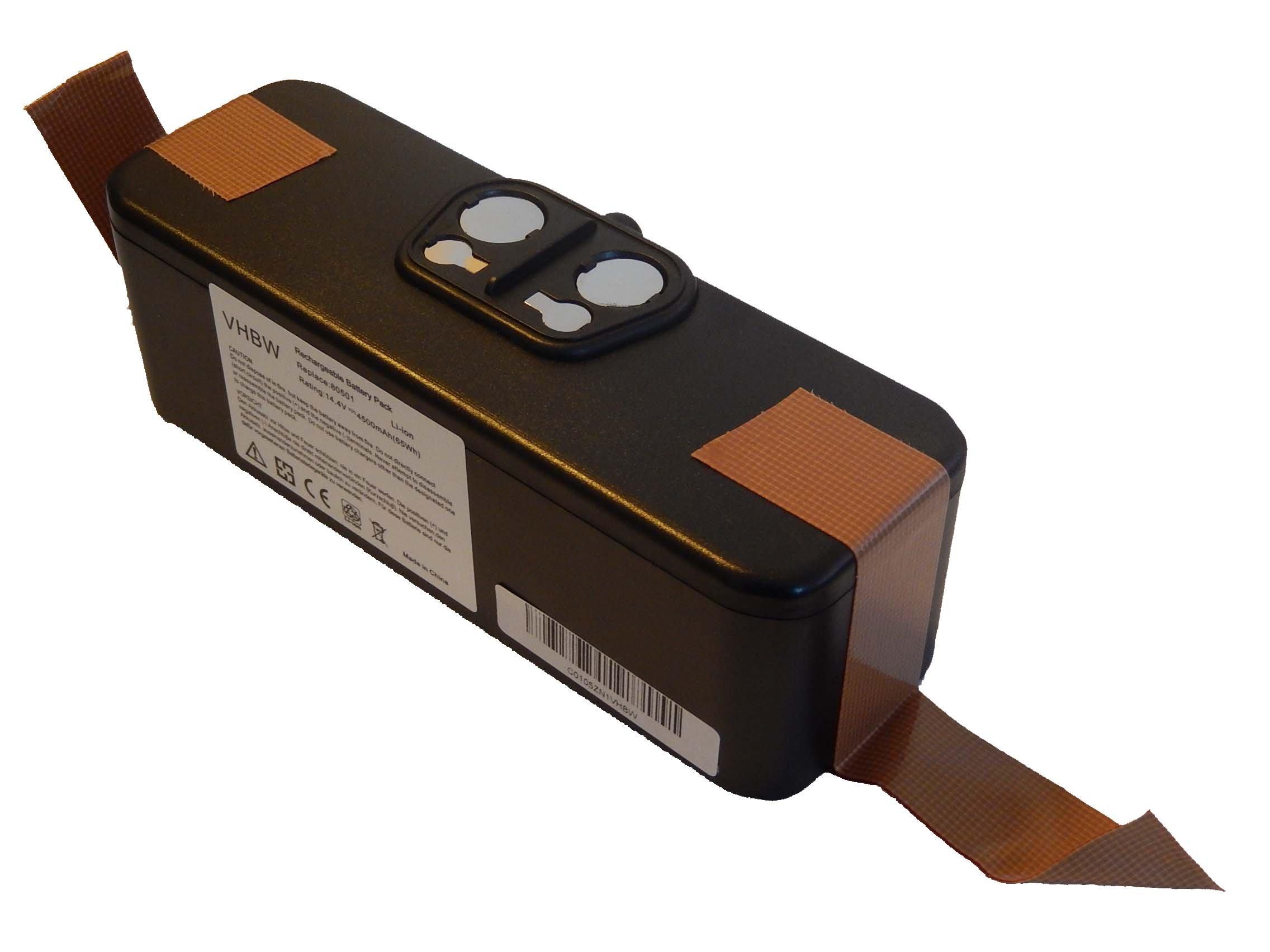 vhbw Batería Li-Ion 4500mAh (14.4V) compatible con iRobot Roomba 620, 625, 630, 650 reemplaza 11702, GD-Roomba-500.: Amazon.es: Electrónica