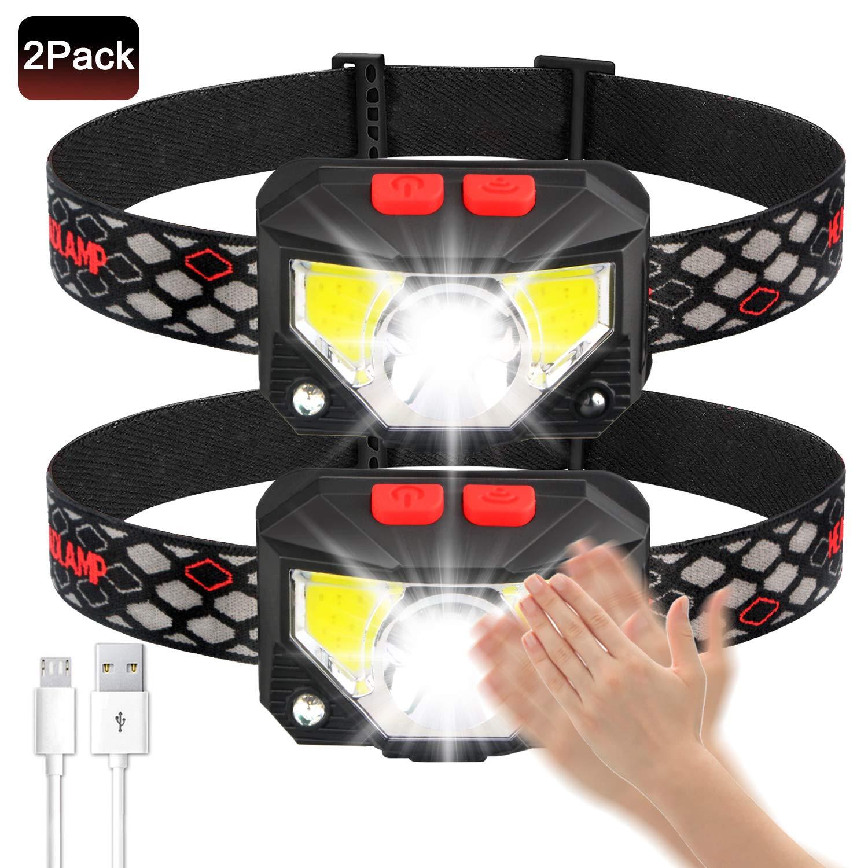 Soft Flashlight Rechargeable Headlight Waterproof