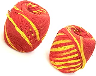 Moli Thread Religious Pooja Accessories Mauli Kalawa Moli 1 Holy Hindu Religious Suraksha Dhaga Handmade Mauli 2-Set Hindu...