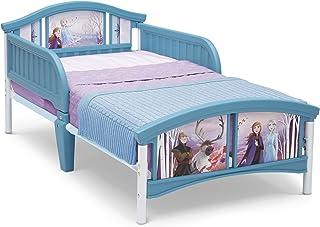 Delta Children Disney Plastic Toddler Bed for Kids, Frozen II, Piece of 1