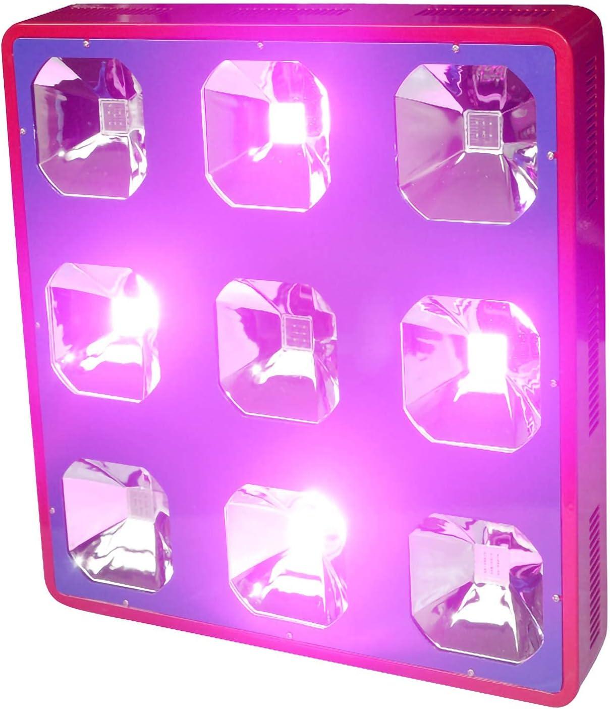 500W Led Grow Light Interior Full Spectrum Plant Growing Light Lámpara De Cultivo De Doble Interruptor, para Invernaderos De Flores, Huerto Y Tienda De Cultivo