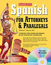 Spanish for Attorneys and Paralegals with Audio CDs (Barron's Foreign Language Guides)