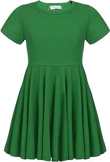 girls green dress