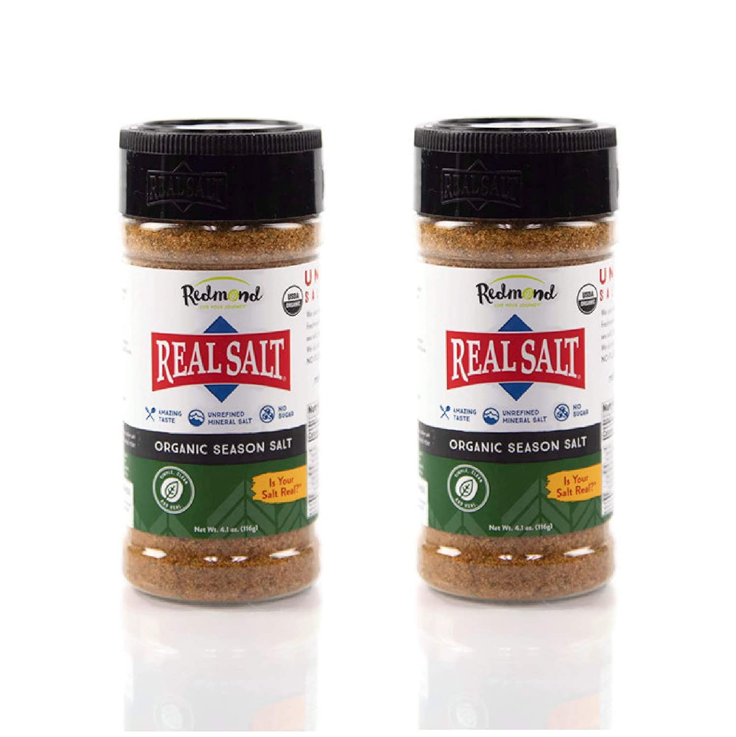 Redmond Real Cash special price Sea Salt - Natural sold out Unrefined Free Gluten Organic S