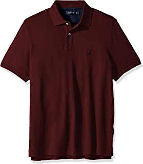 Nautica Men's Classic Fit Short Sleeve Solid Soft Cotton...