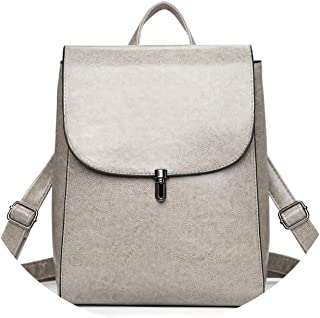 Herald Fashion Women Backpacks Quality Leather School Bags for Women Teenage Student Bags