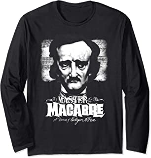 Blackcraft Edgar Allan Poe Maestro Macabro Dark Goth Horror Manga Larga