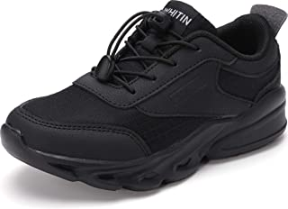 Sponsored Ad - WHITIN Unisex-Child Breathable Easy On/Off Athletic Running Shoes for Little/Big Kids