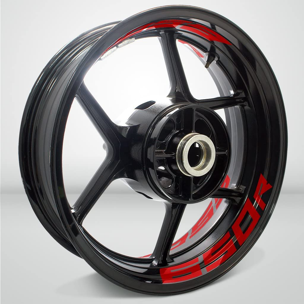 Stickman Vinyls Gloss Red Motorcycle OFFicial site Sticker Inner Comp Tape Rim Ranking TOP12