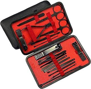 2020 Juego de manicura de versión actualizada, kit de pedicura, cortaúñas, kit de aseo profesional, herramientas de uñas 1...