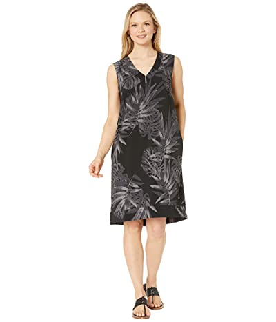 FIG Clothing Pao Dress (Tropical Black) Women