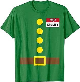I'm Grumpy Dwarf T Shirt Gnome Costume Halloween Christmas